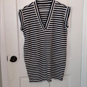 Anthony Thomas Melillo Striped Mini Dress